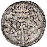 3 Pfennig - Ludwig Anton von Pfalz-Neuburg – obverse