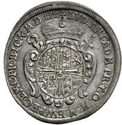 1 Groschen - Ludwig Anton von Pfalz-Neuburg (Death) – obverse