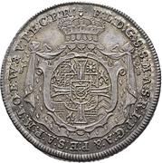 ¼ Thaler - Franz Ludwig von Pfalz-Neuburg (Death) – obverse