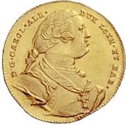 1 Ducat - Carl Alexander von Lothringen – obverse