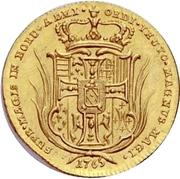 1 Ducat - Carl Alexander von Lothringen – reverse