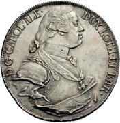 1 Thaler - Karl Alexander von Lothringen (Konventionstaler) – obverse