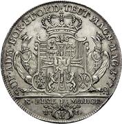 1 Thaler - Karl Alexander von Lothringen (Konventionstaler) – reverse
