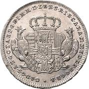 10 Kreuzer - Karl Alexander von Lothringen (Death) – obverse
