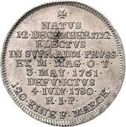 10 Kreuzer - Karl Alexander von Lothringen (Death) – reverse