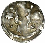 1 Denar - Ludwig II – reverse