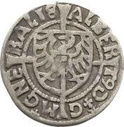 1 Groschen - Albrecht von Hohenzollern (Königsberg) – obverse