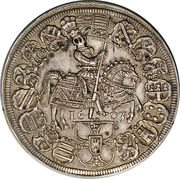 1 Thaler - Maximilian I. – reverse