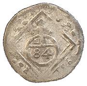 3 Pfennig - Johann Caspar von Ampringen – reverse