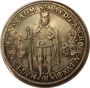 1 Thaler - Grandmaster Maximilian of Austria – obverse