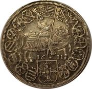 1 Thaler - Grandmaster Maximilian of Austria – reverse