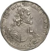 2 Thaler - Johann Caspar von Ampringen – obverse