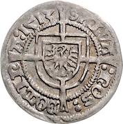 1 Groschen - Albrecht Markgraf von Brandenburg – reverse