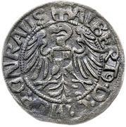 1 Groschen - Albrecht von Hohenzollern – obverse