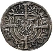 1 Groschen - Albrecht von Hohenzollern – reverse