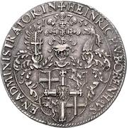 1 Thaler - Heinrich von Bobenhausen – obverse