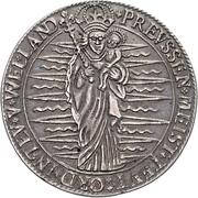 1 Thaler - Heinrich von Bobenhausen – reverse