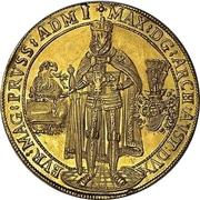 10 Ducat - Maximilian I. – obverse