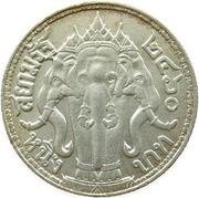 1 Baht - Rama VI -  reverse