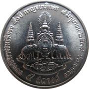 5 Satang - Rama IX (50th Anniversary - Reign of King Rama IX) -  reverse
