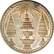 1 Baht (Coronet; Copper Pattern) - Rama V -  obverse