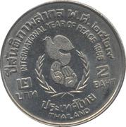 2 Baht - Rama IX (Year of Peace) -  reverse