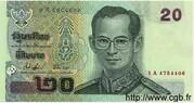 20 Baht -  obverse