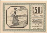 50 Heller (Thalgau) -  obverse