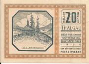 20 Heller (Thalgau) – obverse