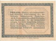 20 Heller (Thalgau) – reverse