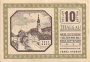 10 Heller (Thalgau) -  obverse
