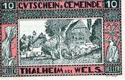 10 Heller (Thalheim bei Wels) -  obverse