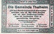 10 Heller (Thalheim bei Wels) -  reverse