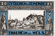20 Heller (Thalheim bei Wels) – obverse
