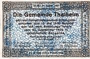 20 Heller (Thalheim bei Wels) – reverse
