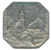 10 Centimes (Thann, Alsace) – obverse
