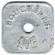 10 Centimes - Société Coopérative (Thaon) – reverse