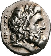 Stater - Sosivios and Simy[...] – obverse