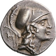 Drachm - Alketas, Sosipatros and Xe[...] – obverse