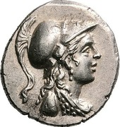 Drachm - Kraterophron and Amynandros – obverse