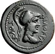 Obol - Philokrates, Italos and Petraios – obverse