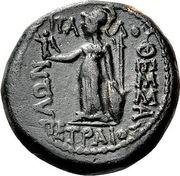 Obol - Philokrates, Italos and Petraios – reverse