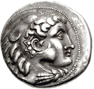 Tetradrachm (Imitation of Tetradrachm of Philip III of Macedon) – obverse
