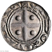1 Pfennig - Heinrich Raspe II. – reverse