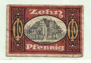 10 Pfennig (Allstedt) – reverse
