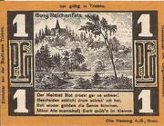 1 Pfennig (Triebes, Hohenleuben, Langenwetzendorf) – reverse
