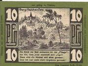 10 Pfennig (Triebes, Hohenleuben, Langenwetzendorf) – reverse