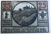 25 Pfennig (Dornburg an der Saale) – obverse