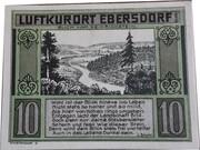 10 Pfennig (Ebersdorf in Thüringen) – reverse