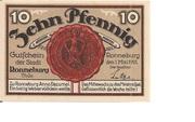 10 Pfennig (Ronneburg) – obverse